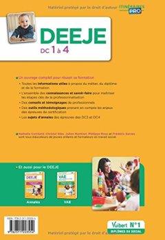 Livres Couvertures de DEEJE - DC 1 à 4 - Préparation complète pour réussir sa formation - Diplôme d'État d'Éducateur de jeunes enfants