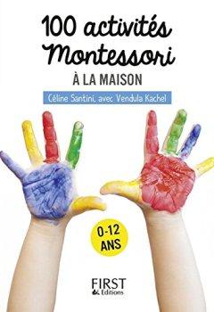 Livres Couvertures de Petit livre de - 100 activités Montessori à la maison