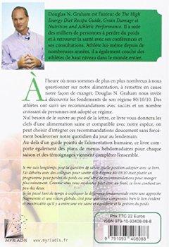 Livres Couvertures de Le régime 80/10/10 : Equilibrez votre santé, votre poids et votre vie