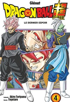 Livres Couvertures de Dragon Ball Super - Tome 04