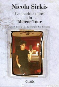 Livres Couvertures de Les petites notes du Météor Tour