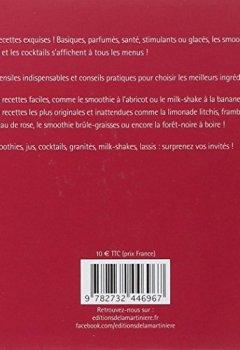 Livres Couvertures de 500 jus et smoothies