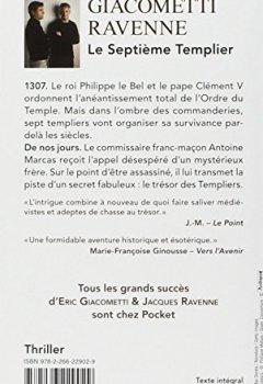 Livres Couvertures de Le Septième Templier