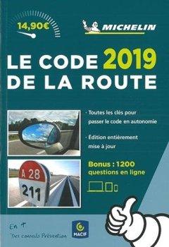 Livres Couvertures de Code de la Route Michelin 2019