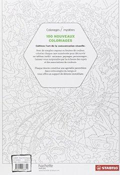 Livres Couvertures de 100 Nouveaux coloriages Mystères
