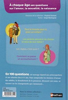 Livres Couvertures de Questions d'amour 8-11 ans