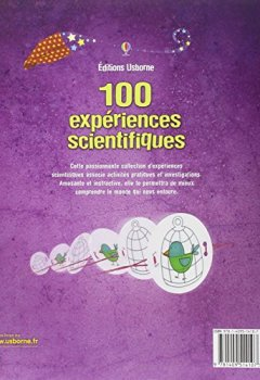 Livres Couvertures de 100 EXPERIENCES SCIENTIFIQUES NE