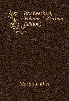 Livres Couvertures de Briefweehsel, tome 1