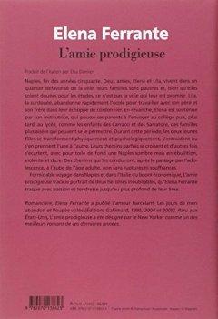 Livres Couvertures de L'amie prodigieuse: Enfance, adolescence