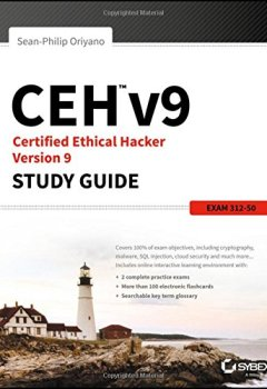 Livres Couvertures de CEH v9: Certified Ethical Hacker Version 9
