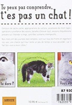 Livres Couvertures de Tu peux pas comprendre, t'es pas un chat !
