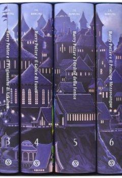 Livres Couvertures de Harry Potter. La serie completa