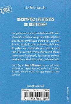 Livres Couvertures de Le décodeur gestuel : Les gestes du quotidien décryptés