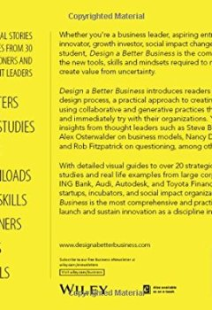 Livres Couvertures de Design a Better Business: New Tools, Skills, and Mindset for Strategy and Innovation