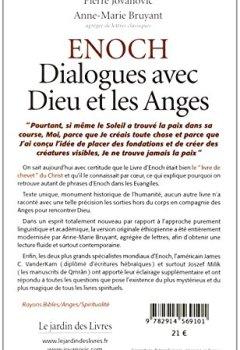 Enoch : Dialogues avec dieu et les anges, le seul livre que le Christ citait régulièrement parce qu'il le connaissait par cœur de Indie Author