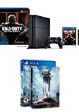 PlayStation 4 500GB Console - Call of Duty Black Ops III Bundle with Star Wars: Battlefront & Steelbook (Amazon Exclusive)