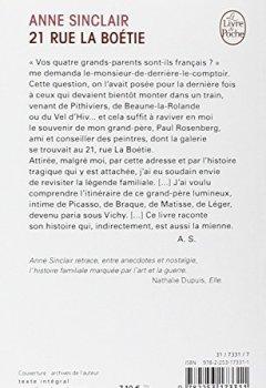 Livres Couvertures de 21 rue de La Boétie