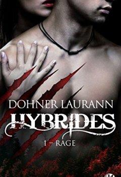 Livres Couvertures de Rage: Hybrides, T1