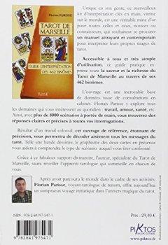 Livres Couvertures de Tarot de Marseille : Guide d'interprétation des 462 binômes