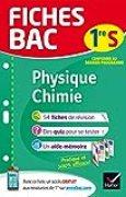 Fiches bac Physique-Chimie 1re S: fiches de révision Première S
