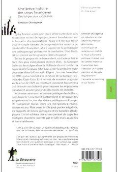 Livres Couvertures de Une brève histoire des crises financières : Des tulipes aux subprimes