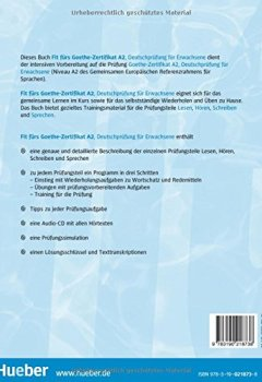 Scaricare Fit Fürs Goethe Zertifikat A2 Lehrbuch Mit Audio Cd