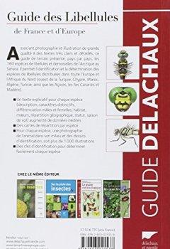 Livres Couvertures de Guide des libellules de France et d'Europe