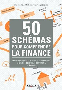 Livres Couvertures de 50 schémas pour comprendre la finance: Les grands équilibres du bilan, le business plan, la création de valeur, le point mort ... et 46 autres