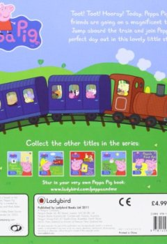 Livres Couvertures de Peppa Pig: Peppa and the Big Train: My First Storybook