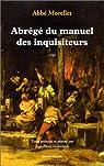 Abrégé du manuel des inquisiteurs, 1762