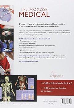 Livres Couvertures de Le Larousse médical - édition mise à jour
