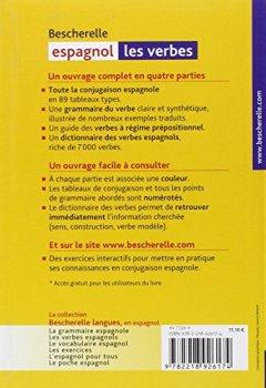 Livres Couvertures de Bescherelle - Les verbes espagnols