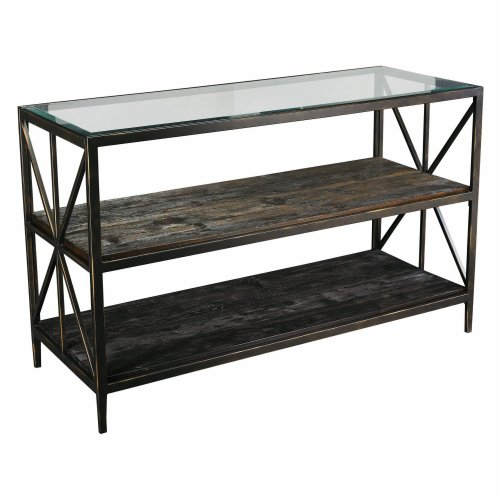 Image of Hammary Crossnore Rectangular Console table (T20460-T2046589-00)