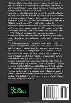 Portada del libro deOcho Quilates: Una historia de la Edad de Oro del software espanol (1987 - 1992)