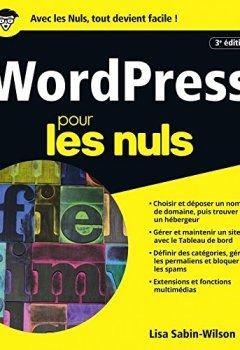 Livres Couvertures de WordPress pour les Nuls, grand format, 3e édition
