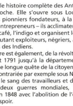 Livres Couvertures de Histoire des Antilles françaises
