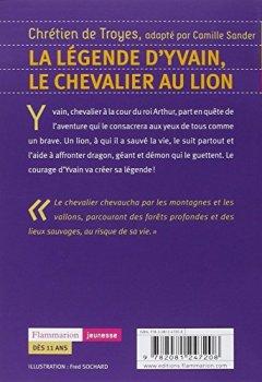 Livres Couvertures de La légende d'Yvain, le chevalier au lion