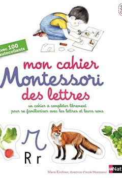 Livres Couvertures de Mon cahier Montessori des lettres et des sons