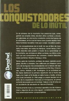 Portada del libro deConquistadores De Lo Inutil, Los (Literatura (desnivel))