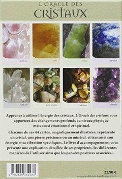 Livres Couvertures de L'oracle des cristaux : Conseils depuis le coeur de la Terre
