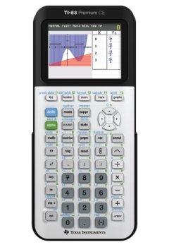 Livres Couvertures de Texas Instruments TI-83 Premium Calculatrice scientifique Blanc/Noir