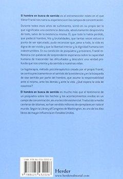 Portada del libro deHombre En Busca De Sentido,El (Nueva Edición)
