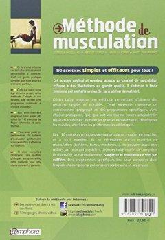 Livres Couvertures de Méthode de musculation : 110 exercices sans matériel