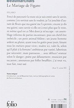 Livres Couvertures de Le Mariage de Figaro