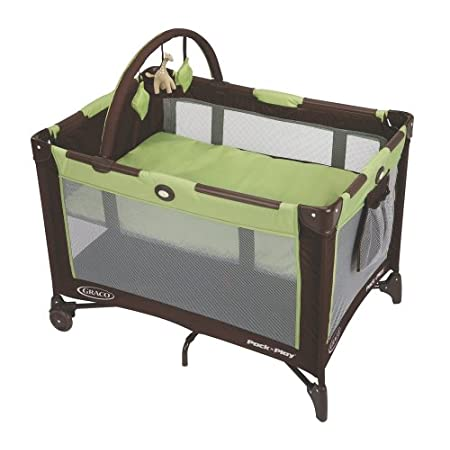 Graco Pack 'n Play Playard - Go GreenYou want your little one to be comfortable no matter where you go and we want to make that easier for you. With a specially made bassinet that means less parts to carry and its 20% more compact fold, there's no mo...