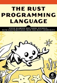 Livres Couvertures de The Rust Programming Language