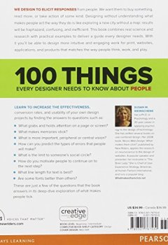 Livres Couvertures de 100 Things Every Designer Needs to Know About People