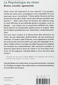 Livres Couvertures de La Psychologie du chien : Stress, anxiété, agressivité