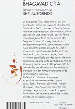 Livres Couvertures de La Bhagavad-Gîtâ
