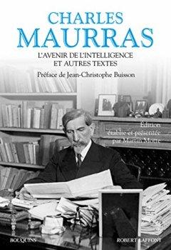 Livres Couvertures de L'Avenir de l'intelligence et autres textes